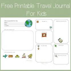 Trip Journal Template by Free Printable Travel Journal For From Travel Turtle