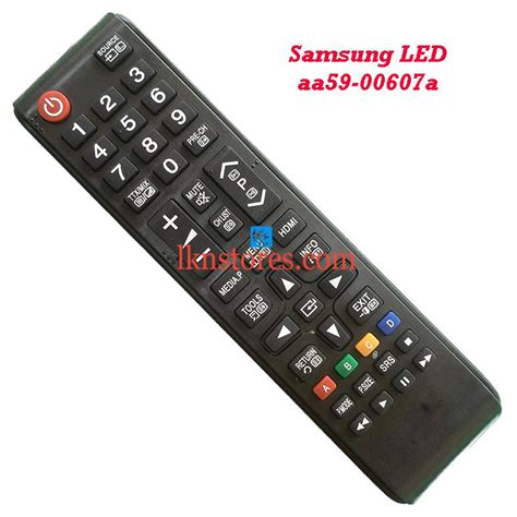 Remote Tv Samsung Lcdled Aa59 00607a samsung led tv remote aa59 00607a lknstores
