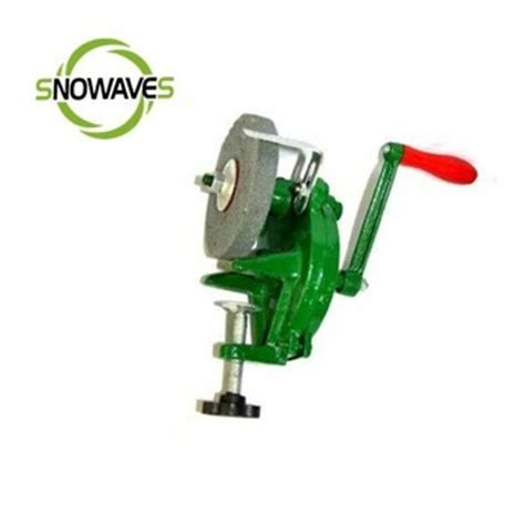 hand powered bench grinder snowaves mini portable hand grinder bench grinder hand