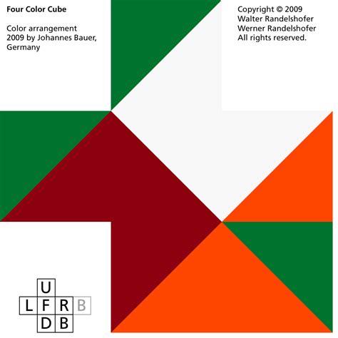 four color four color cube 2