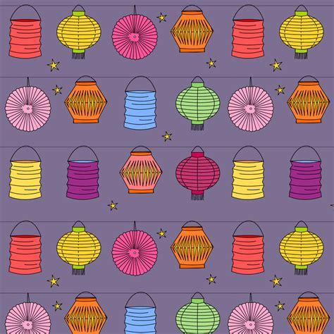 pattern paper lanterns free digital lantern scrapbooking paper ausdruckbares