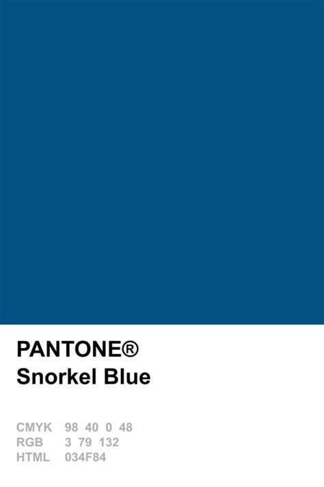 pantone color blue pantone 2016 snorkel blue pantone pinterest snorkel