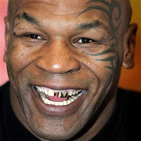 tyson tattoo tattooed mike tyson tattoos