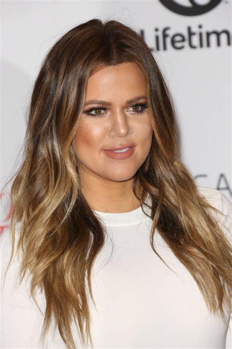 khole hair cuts kloe kardashian haircut with layering hair color
