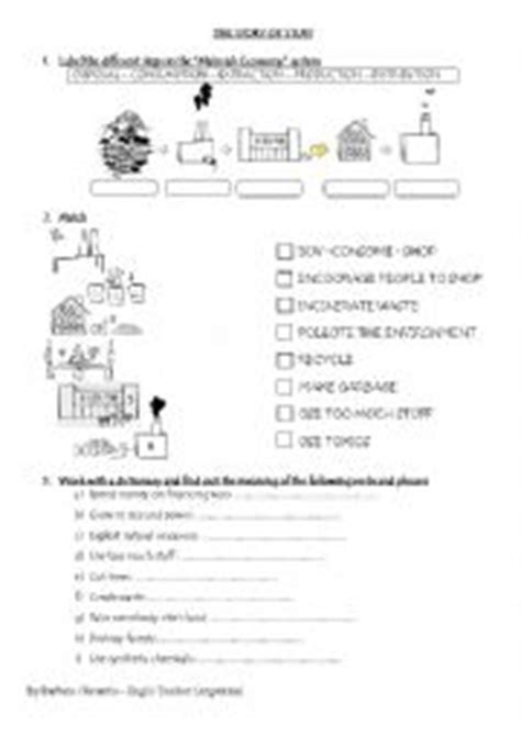 Story Of Stuff Worksheet Answers by Worksheet The Story Of Stuff