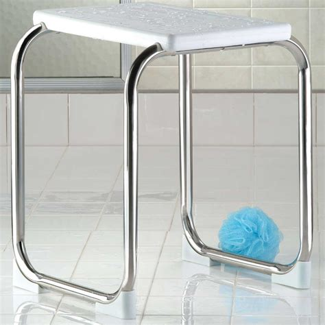 metal shower bench stainless steel shower bench in tub caddies and accessories