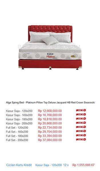Kasur Bigland Jakarta harga alga bed harga bed termurah di indonesia