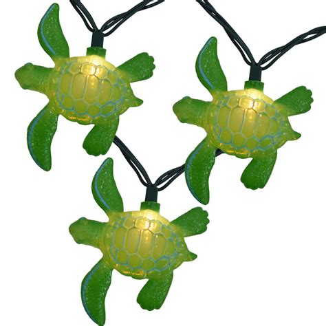 Turtle Lights by Tropical Sea Turtle Novelty Lights 10 Lights