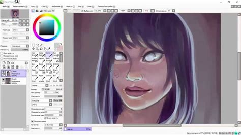 paint tool sai speed drawing speed drawing in paint tool sai part2