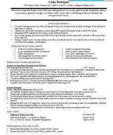 professional resume samples for mba