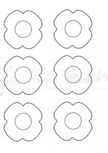 poppy template to colour anzac day poppy template top innovative and