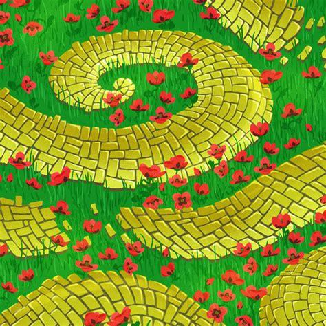 download adobe illustrator brick pattern create a fun seamless yellow brick road and poppy pattern