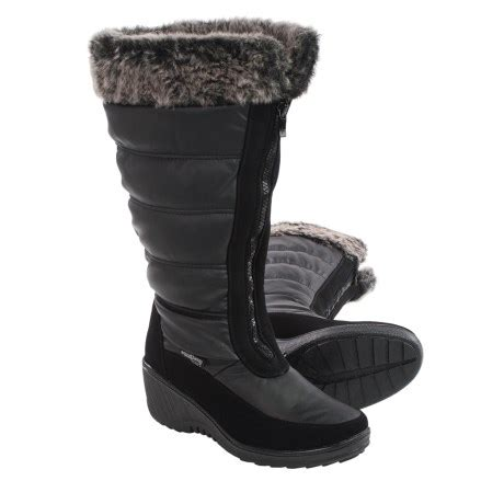 best snow boots review of aquatherm by santana canada
