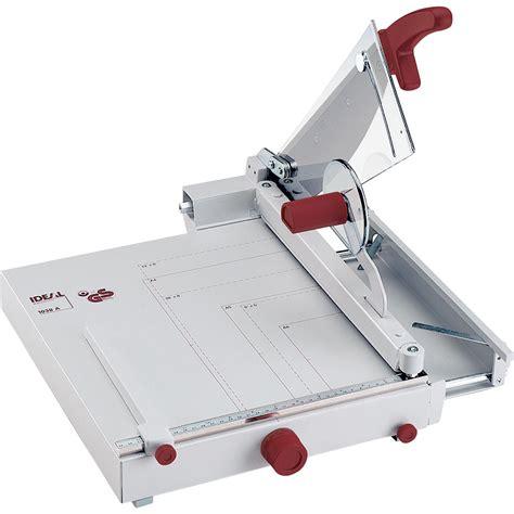 Pemotong Kertas Folio Pemotong Kertas Ideal 1038 Paper Cutter Ideal1038 Alat