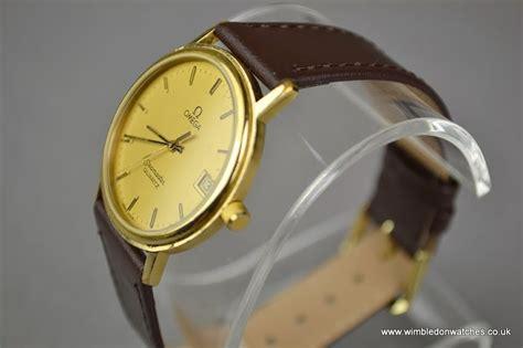 gents omega gold seamaster quartz wr940