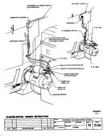 57 chevy starter wiring diagram get free image about