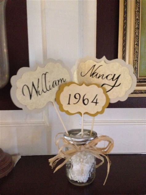 50th wedding anniversary decorating ideas luau reception and