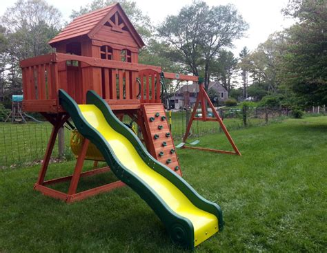 backyard discovery cedar view swing set backyard swing 187 all for the garden house beach backyard
