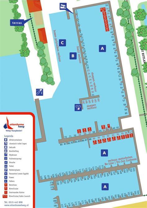 ligplaats sloep ligplaats in friesland ottenhome heeg jachthaven