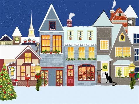 christmas village houses free illustration christmas village houses snow free image on pixabay 1054384