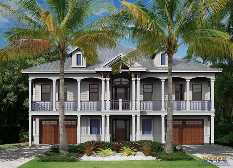 house plan waterfront plans luxury home charvoo