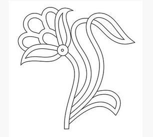Batik Semi Bunga 22 Mei 2017 sulam benang tangan contoh pola untuk bunga sulam