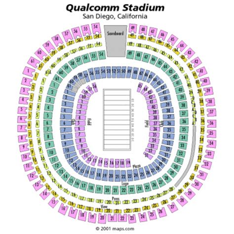 san diego charger seating chart faials