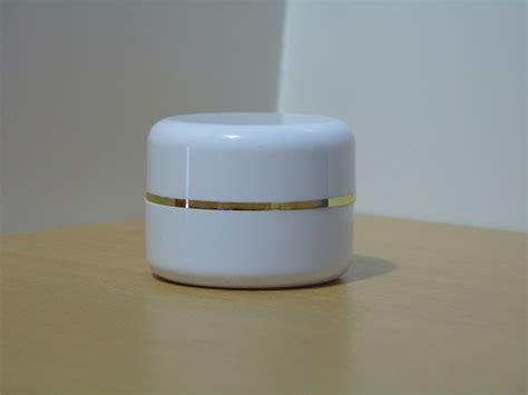 Botol Putih Tutup Pink List Gold Tempat Splash Cologne Kosmetik Krim pot krim pot kosmetik kemasan kosmetik