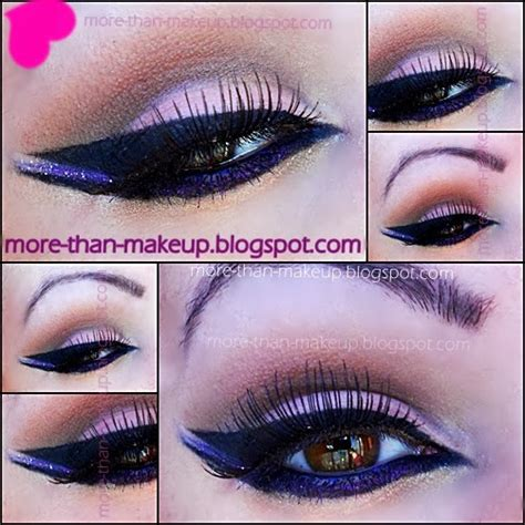tutorial trucco eyeliner nero more than makeup arabic makeup tutorial purple black and