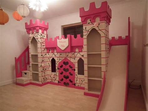 Princess Bunk Beds With Stairs Treat Your With Princess Bunk Bed With Slide Atzine