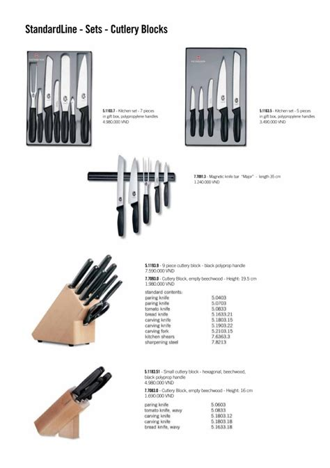 list of kitchen knives list of kitchen knives wildfire cutlery price list