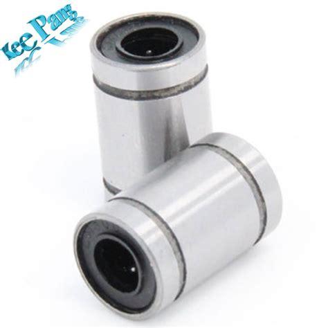 Lm8uu Linear Bushing 8mm Cnc Linear Bearings free shipping 12pcs lot lm8uu 8mm linear bushing cnc linear bearings in 3d printer parts