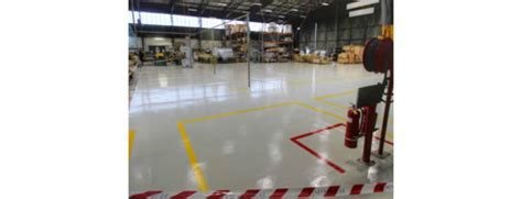 Durable Epoxy Floor Coatings Brisbane   Rhino Linings
