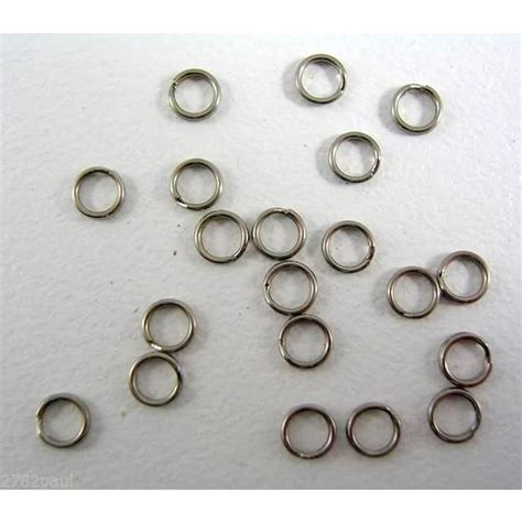 I Fish Stainless Steel Split Rings Size 9 wilson stainless steel split rings made in usa size 0h