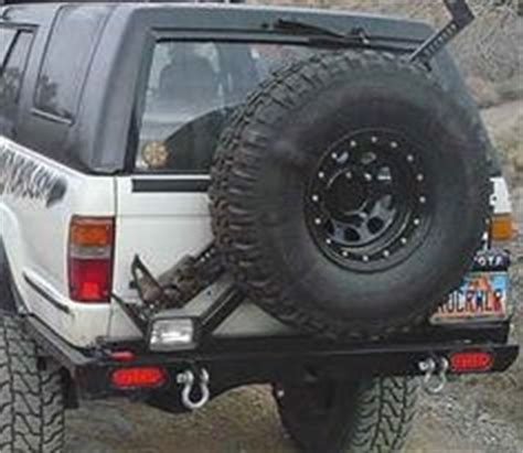 diy swing away tire carrier all pro offroad 05 tacoma rear bumper w swing away