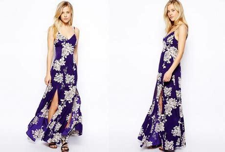 vestiti estivi a fiori modelli vestiti lunghi estivi