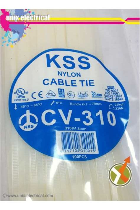 Kabel Ties Cv150 Merk Kss cable ties cv 310 kss