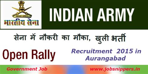 Mba Graduates In Indian Army by Openings In Aurangabad