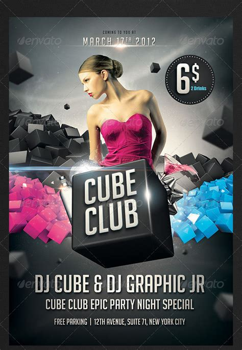 free nightclub flyer design templates 160 free and premium psd flyer design templates print