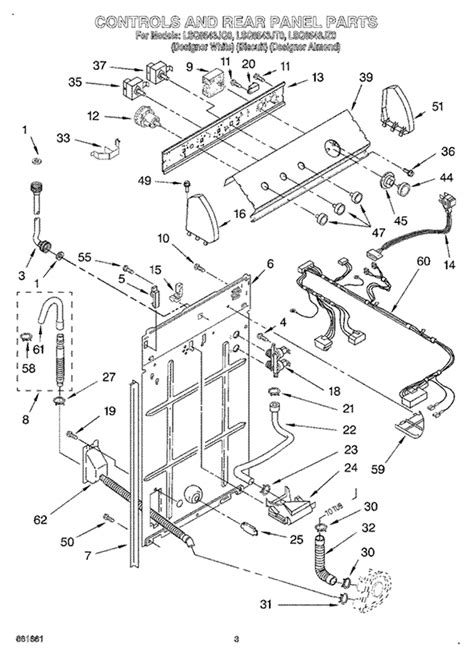 whirlpool partner iii parts diagram ultimate care ii wiring diagram wiring diagram and