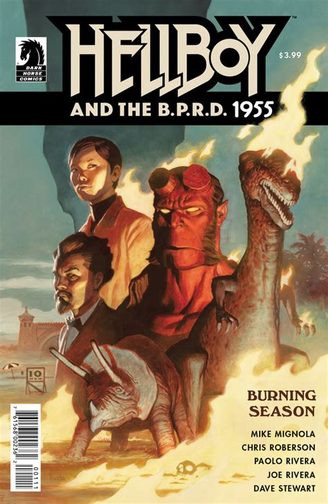libro hellboy and the b p r d hellboy and the b p r d 1955 burning season review enjoyable review fix