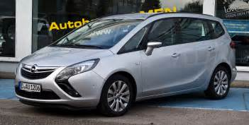 Opel Turbo Opel Zafira Tourer 1 4 Turbo Technical Details History
