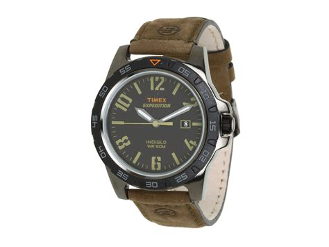 timex expedition rugged field metal timex 174 expedition rugged metal field black brown leather in brown brown black