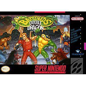 battletoads / double dragon the ultimate team snes super