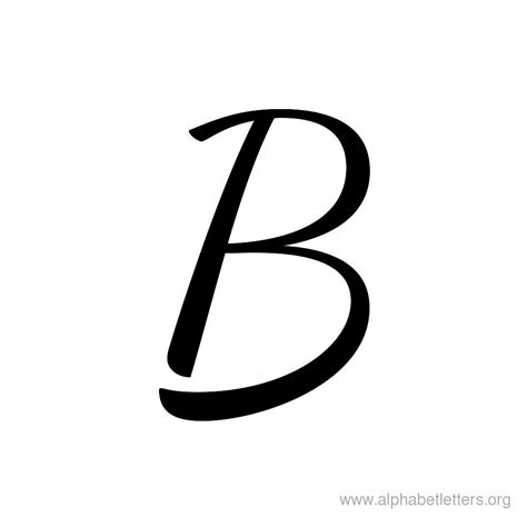 fancy letter b designs letters example