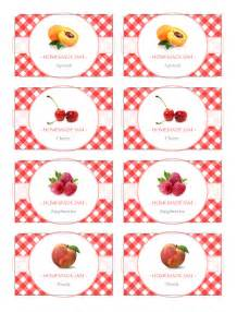 Free Jam Label Templates by Jam Label Template Free