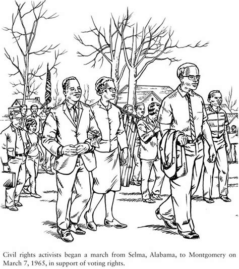 Civil Rights Coloring Pages 45 best ideas about civil rights on rosa parks