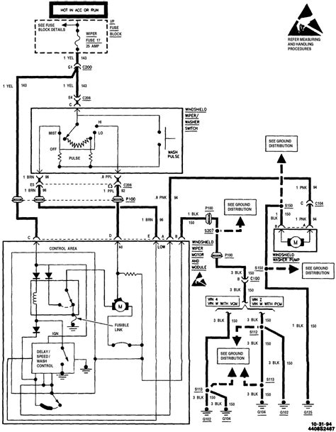 Wiper Motor Wiring Diagram: I Need to Know the Schematic