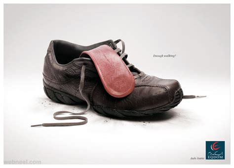 Ads Shoes Led Size 20 25 60 creative print advertisements and print ads for your inspiration