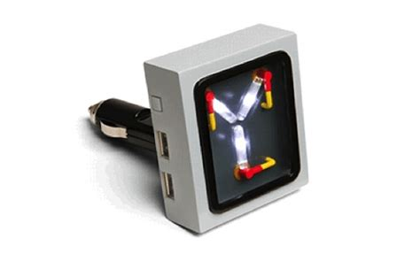 flux capacitor usb wall charger flux capacitor usb car charger dailyxy stuff